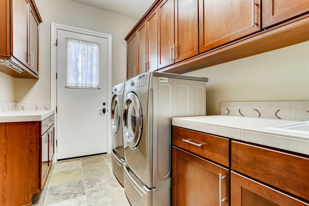 The laundry room. (Berkshire Hathaway HomeServices)