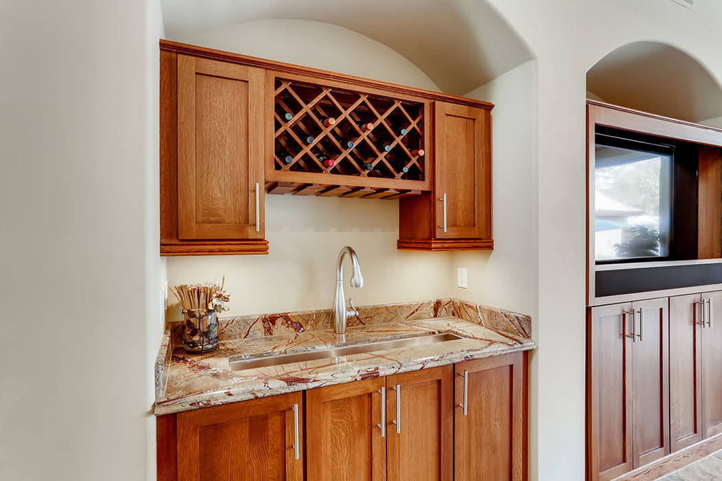 The bar. (Berkshire Hathaway HomeServices)