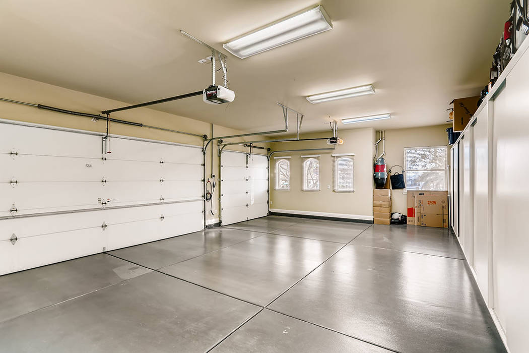 The oversized garage. (Berkshire Hathaway HomeServices)