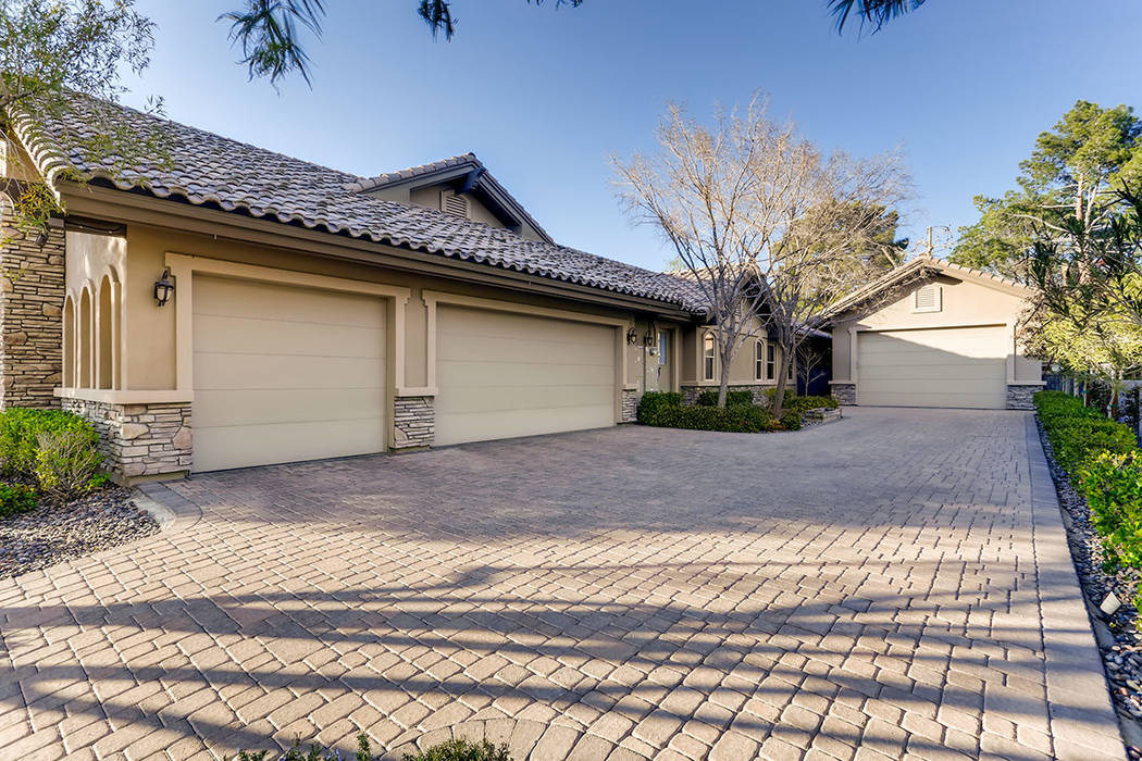 The main home has two garages. (Berkshire Hathaway HomeServices)