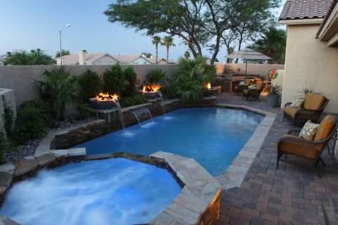Paragon Pools Brent and Denice Hermansen of Henderson spent $40,000 on updating their pool and ...