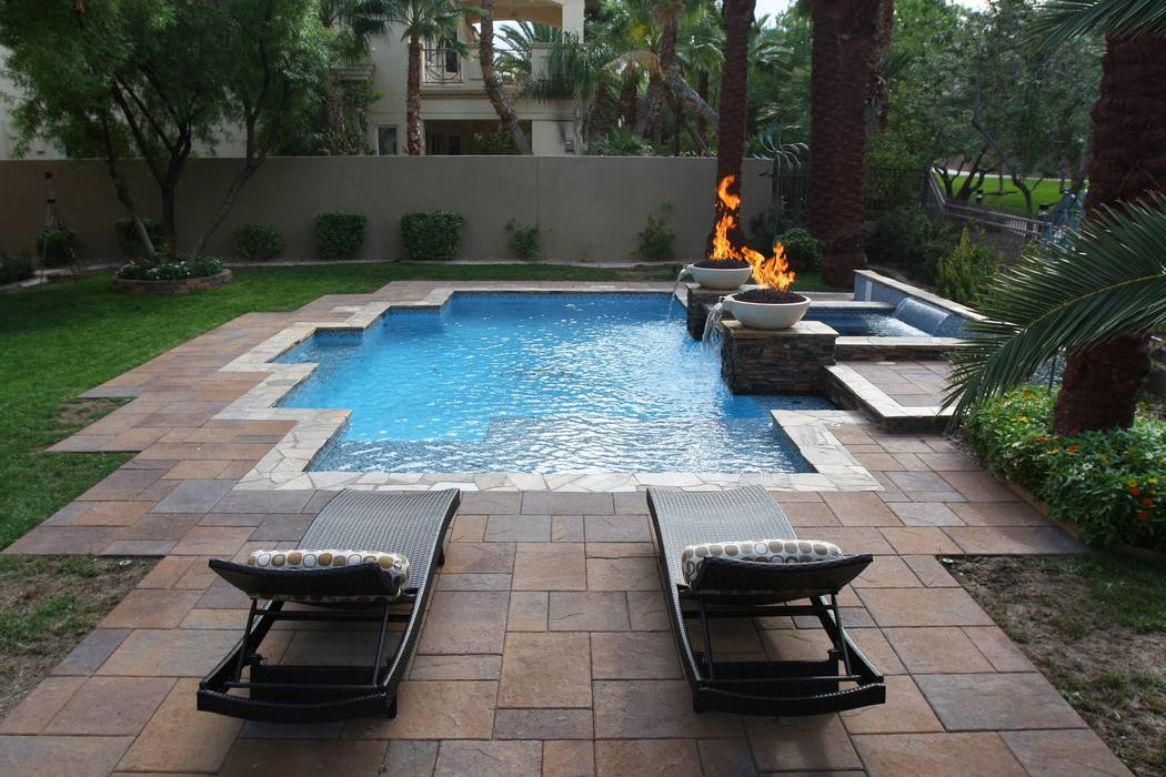Paragon Pools This pool renovation by Paragon Pools consisted of replacing existing deck with p ...