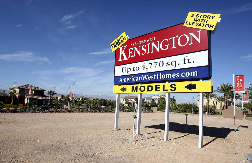 The Las Vegas Valley saw dramatic residential development during the' 60s through the '90s, the ...