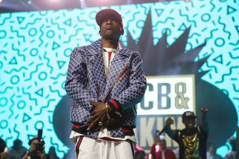 Rapper Rakim performs at the Yo! MTV Raps: 30TH Anniversary Experience at the Barclays Center o ...