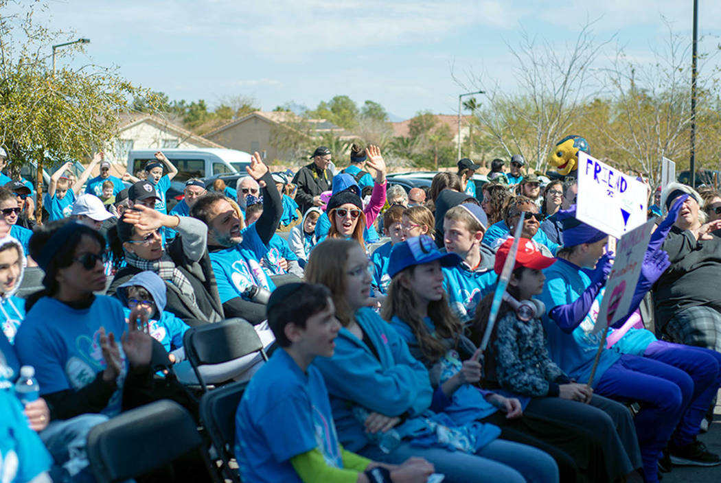 A few hundred people took part in the Walk4Friendship at Bet Yossef Community Center in Las Veg ...
