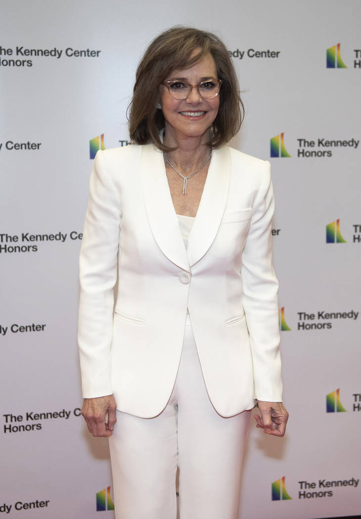 2019 Kennedy Center Honoree actress Sally Field arrives at the State Department for the Kennedy ...