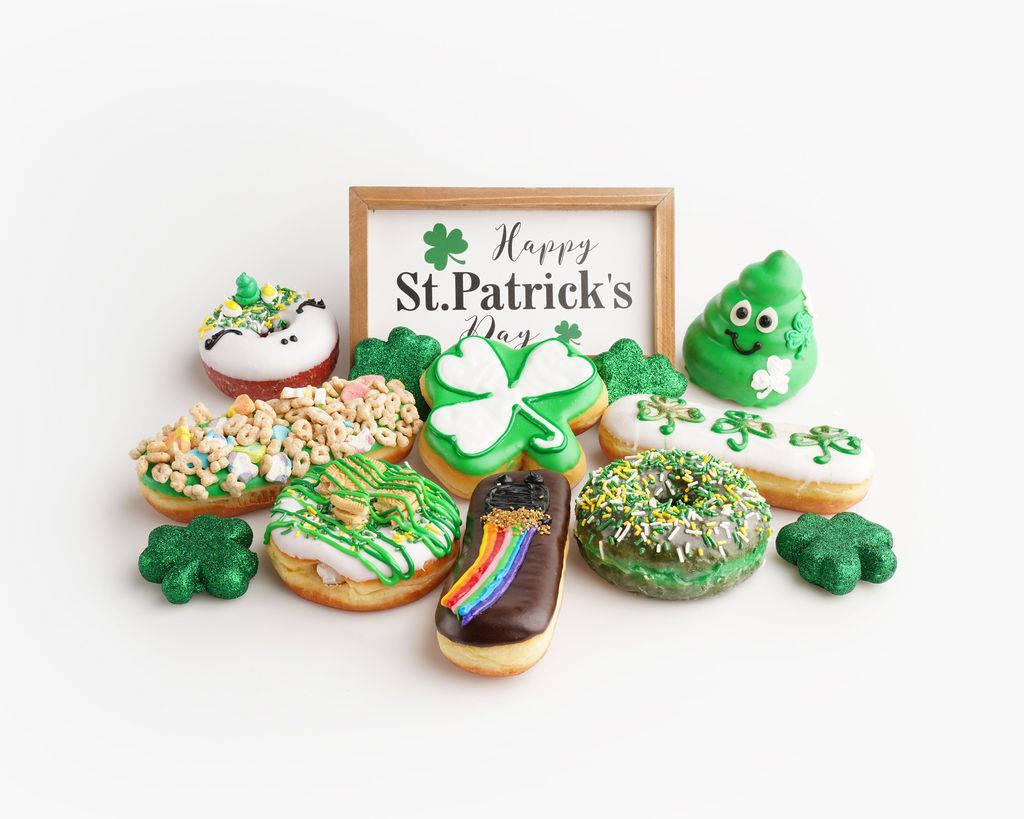 A selection of themed treats at Pinkbox Doughnuts. (Pinkbox Doughnuts)