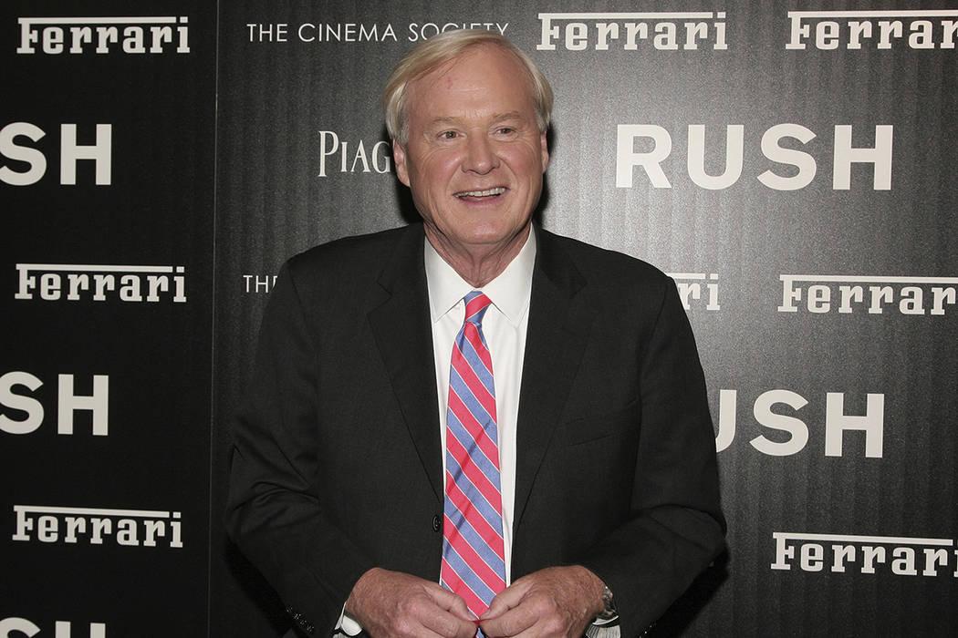 FILE - This Sept. 18, 2013 file photo shows political pundit Chris Matthews at a screening of & ...