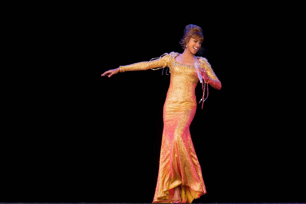 "An image from ""An Evening with Whitney - The Whitney Houston Hologram Concert"" is shown. The p ..."