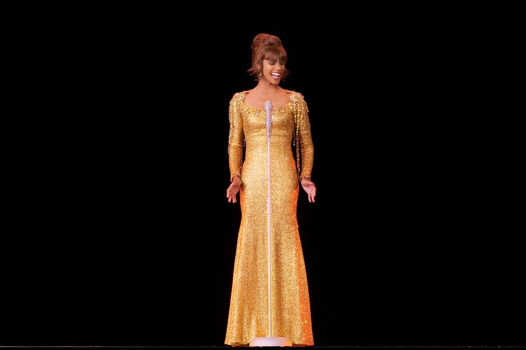 "An image from ""An Evening with Whitney - The Whitney Houston Hologram Concert."" The p ..."