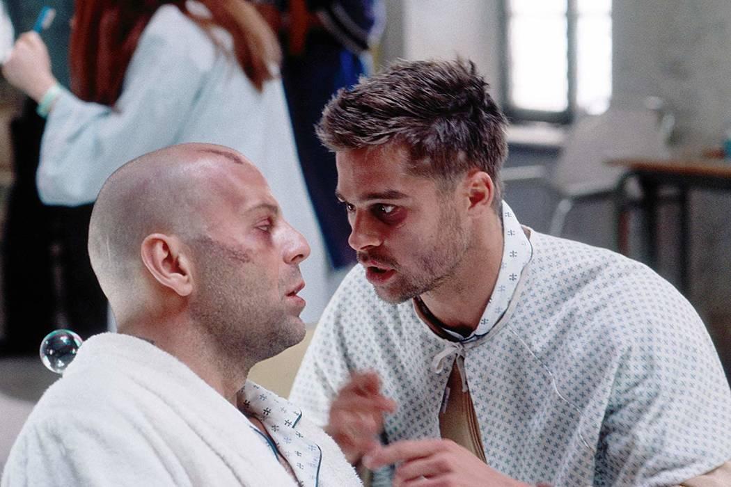 "Bruce Willis and Brad Pitt star in ""12 Monkeys."" (Universal Studios)"