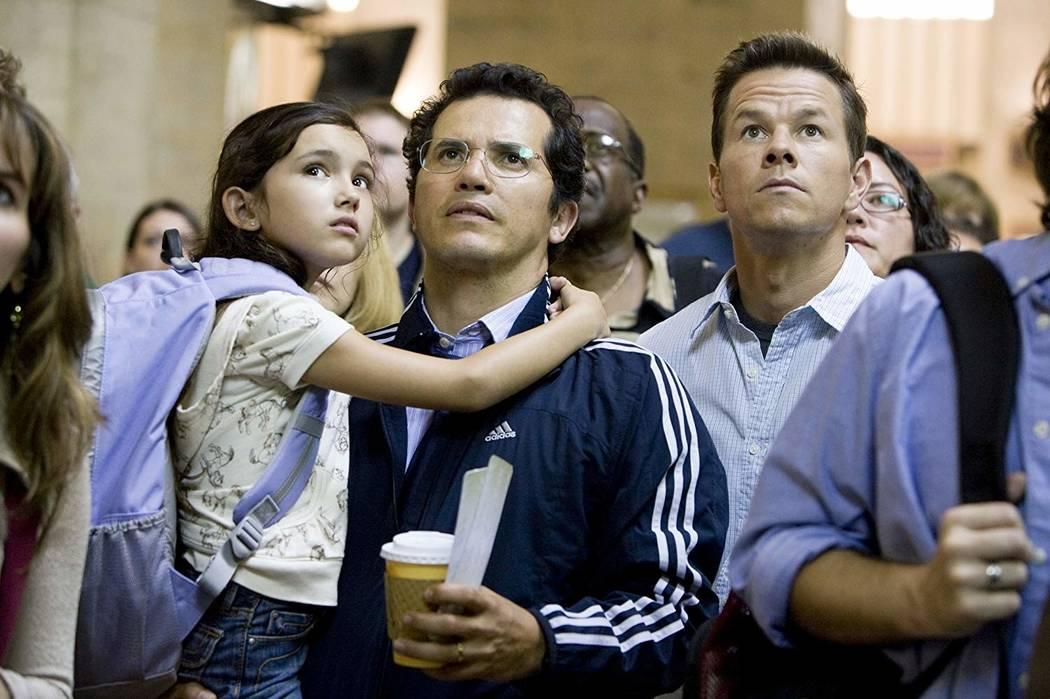 "Ashlyn Sanchez, John Leguizamo and Mark Wahlberg star in ""The Happening."" (Twentieth Century Fox)"