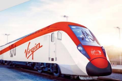 Virgin Trains Las Vegas has proposed building a station south of the Las Vegas Strip for its hi ...
