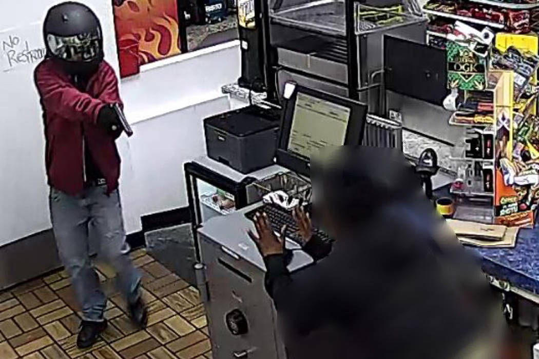 Police are searching for a woman in connection to an armed robbery that occurred Tuesday, Feb. ...