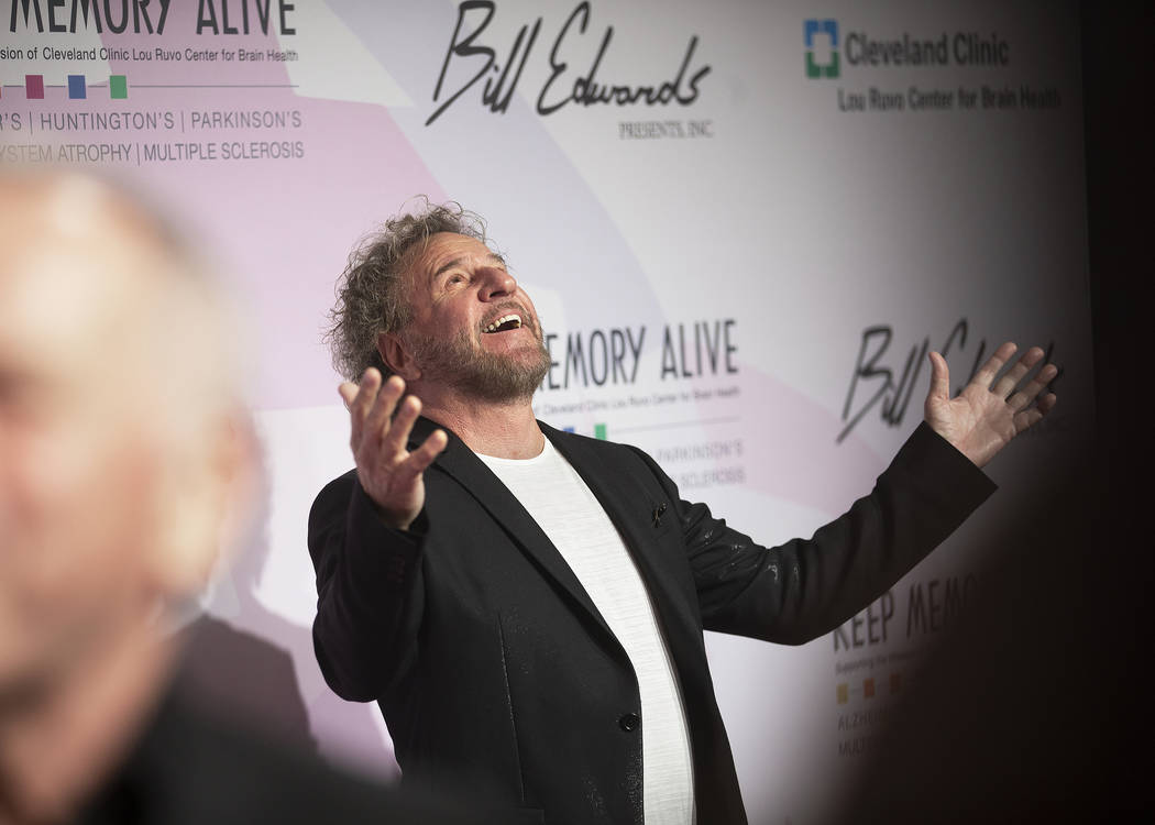 Sammy Hagar takes photos on the red carpet during the 24th Annual Power of Love Gala on Sa ...