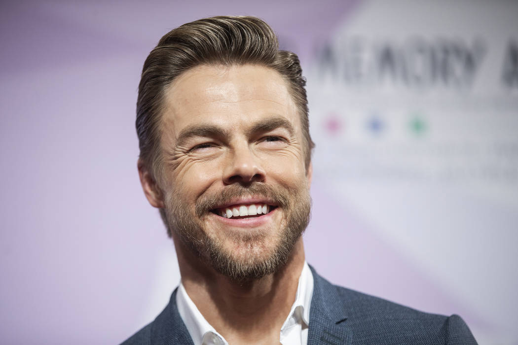 Derek Hough walks the red carpet during the 24th Annual Power of Love Gala on Saturday, Ma ...