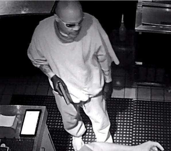 Police are seeking a man responsible for several commercial robberies throughout the Las Vegas ...