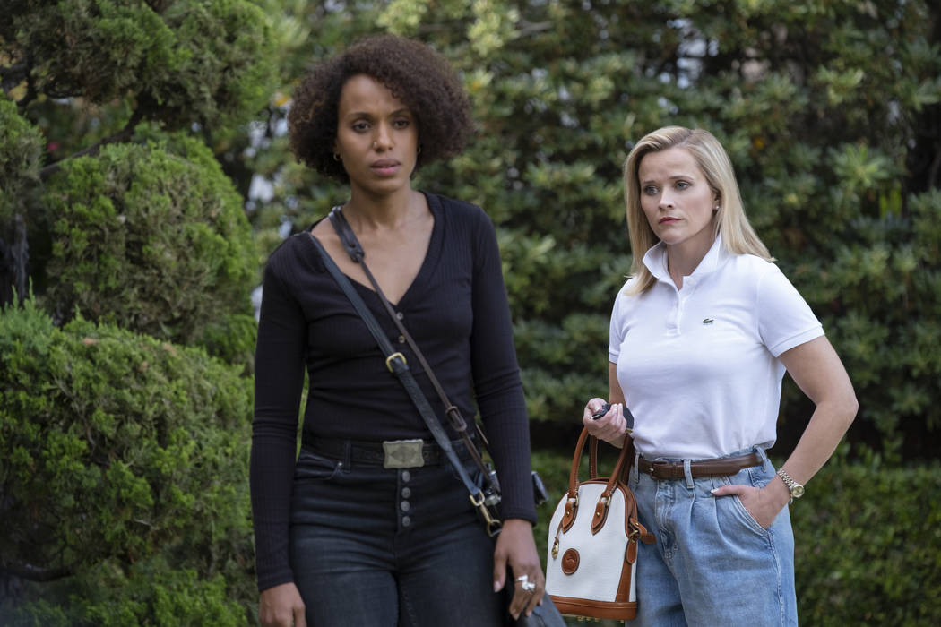 """Kerry Washington and Reese Witherspoon star in """"Little Fires Everywhere."""" (Erin Simki ..."""