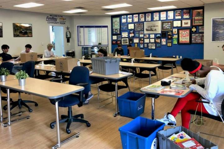 Spread the Word Nevada recently used the community room at Findlay Chevrolet. (Findlay)