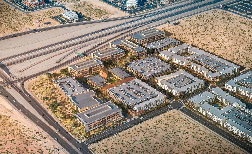Matter Real Estate Group plans to develop a mixed-use project called UnCommons, a rendering of ...