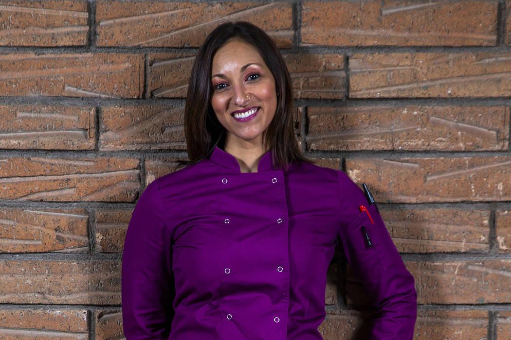 Jainine Jaffer of Shiraz (L.E. Baskow/Las Vegas Review-Journal) @Left_Eye_Images