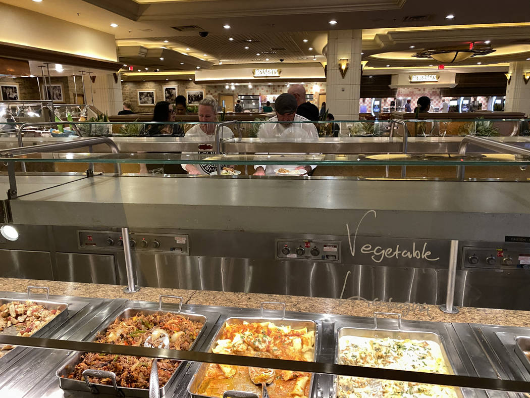 The MGM Grand BuffetTuesday, March 10, 2020. MGM Resorts International will temporarily c ...