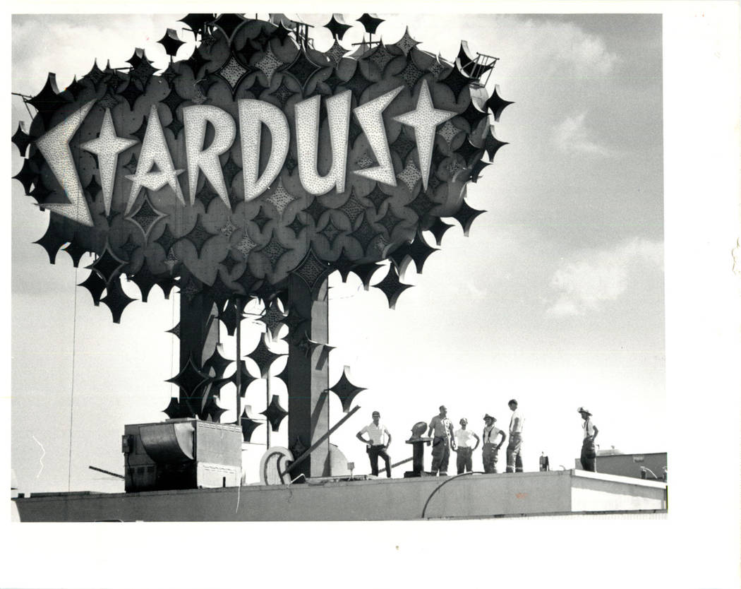 STARDUST HOTEL 1987 2 ALARM FIRE AT THE STARDUST HOTEL (RUSSELL YIP/LAS VEGAS REVIEW-JOURNAL)