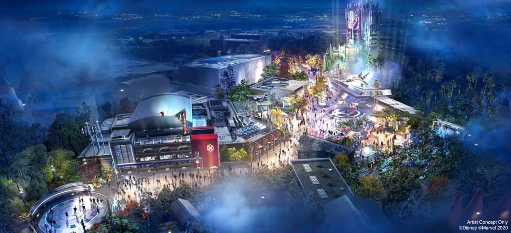 Avengers Campus opens July 18, 2020, at Disney California Adventure Park in Anaheim, California ...