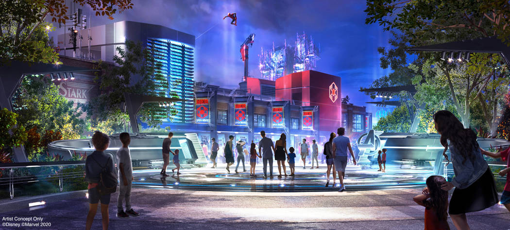 Avengers Campus is an entirely new land dedicated to discovering, recruiting and training the n ...