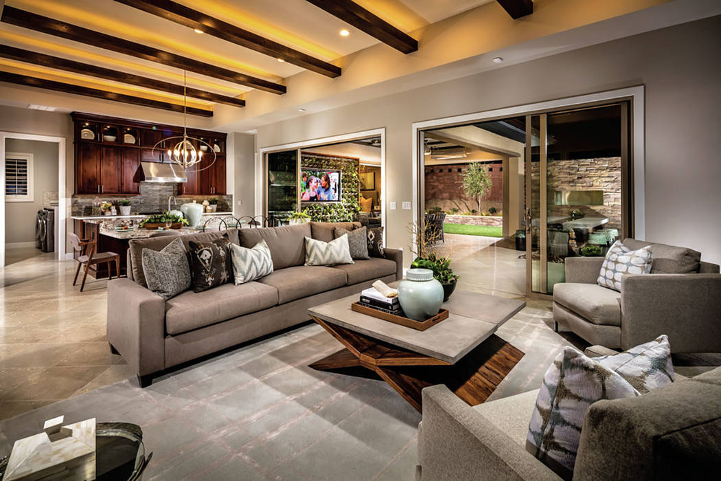 Regency at Summerlin is a low-maintenance, age-qualified community that offers a private clubho ...
