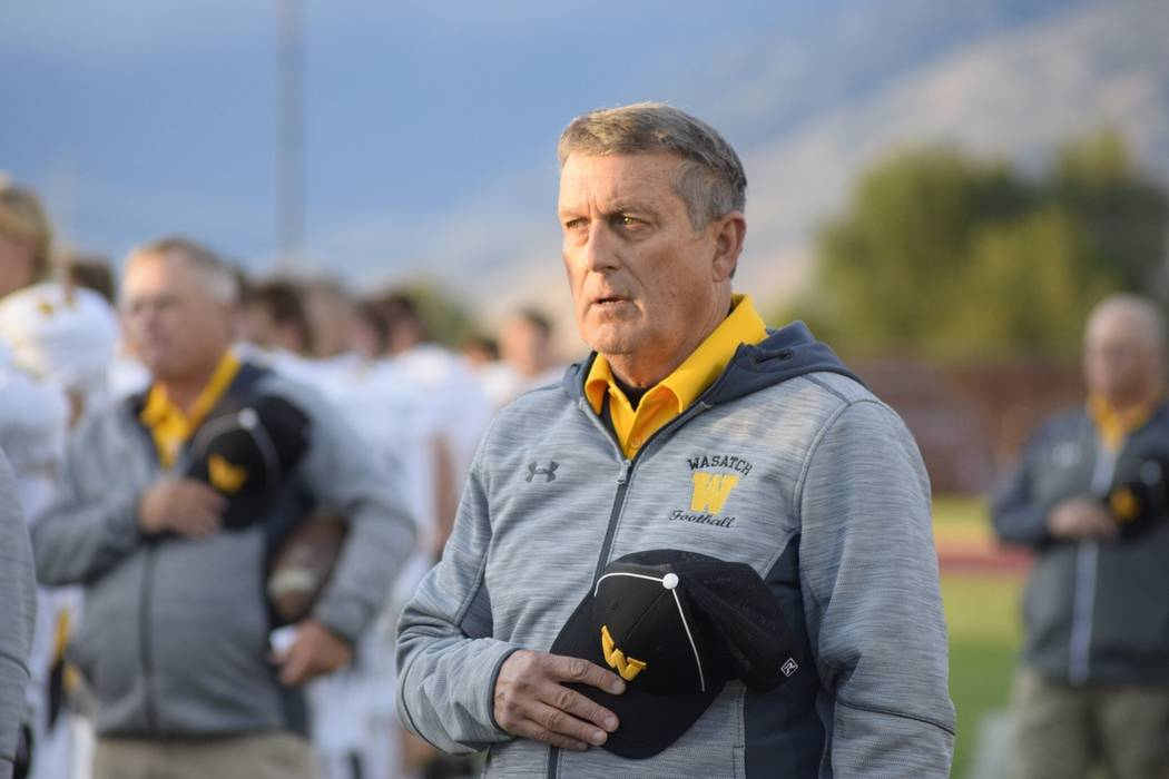 Longtime college football coach Mike Sanford has been named head football coach of the Faith Lu ...