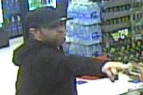 Police are seeking this man in connection to a robbery Sunday, March 1, 2020, at a business on ...