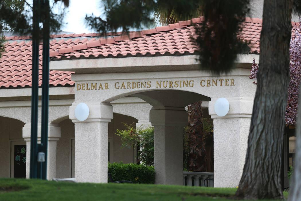 The Delmar Gardens of Green Valley nursing home in Henderson, Thursday, March 12, 2020. (Erik V ...