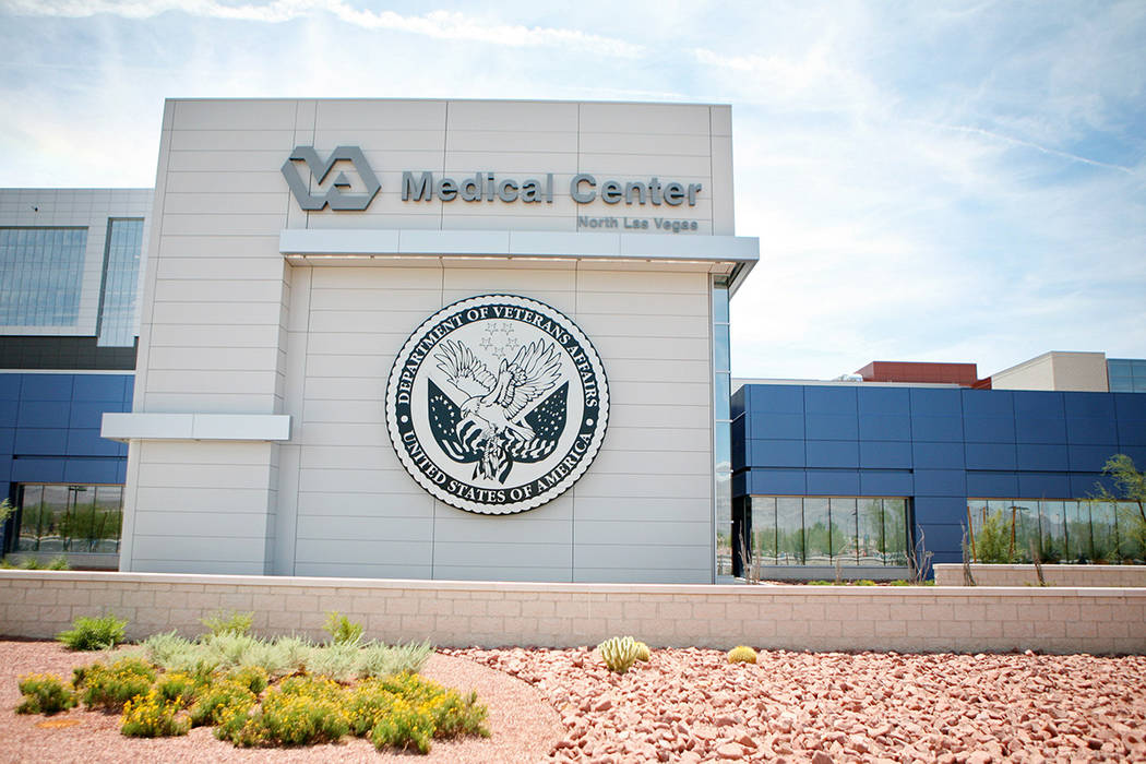 The Veterans Affairs Medical Center, located at 6900 N. Pecos Rd., North Las Vegas. (Las Vegas ...