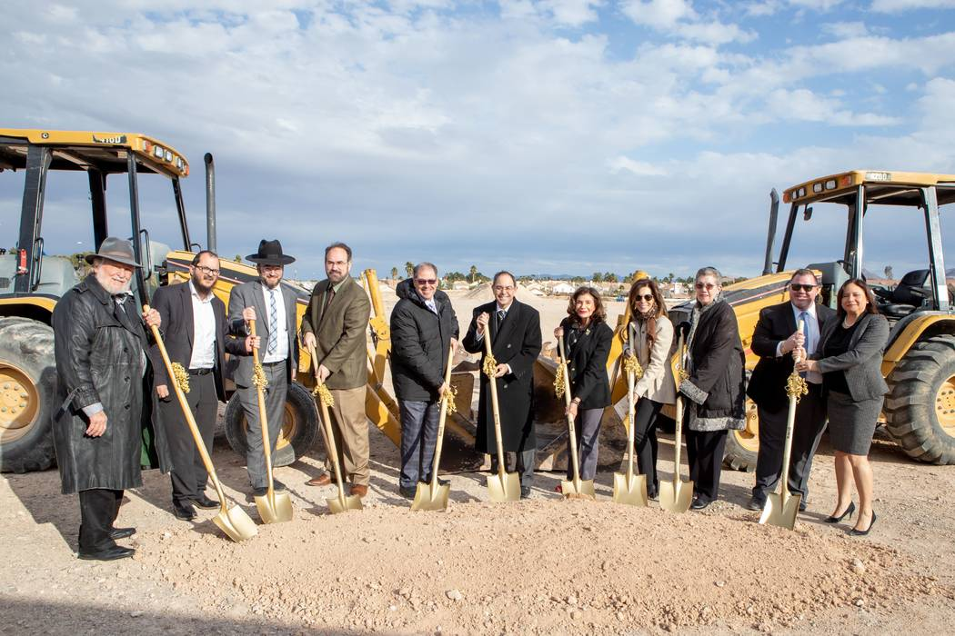 King David Memorial Cemetery held a groundbreaking ceremony Feb. 9 for three new gardens: ortho ...