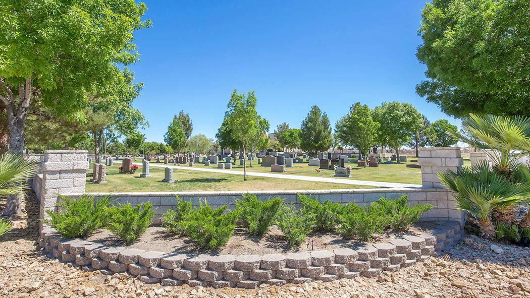 King David Memorial Cemetery – on East Eldorado Lane in southeast Las Vegas – opened in 200 ...