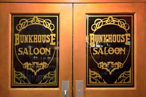 The exterior of the Bunkhouse Saloon at 124 S. 11th St. in Las Vegas. (Review-Journal file photo)