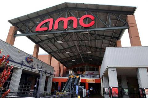 Entrance to AMC Bay Street 16 theater is seen on Wednesday, June 20, 2018, in Emeryville, Calif ...