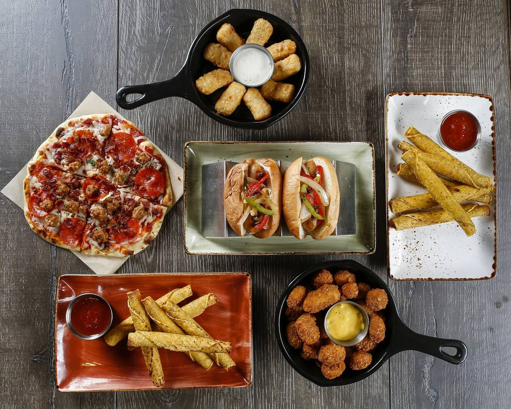 A selection of happy hour foods at PT's. (PT's Entertainment Group)