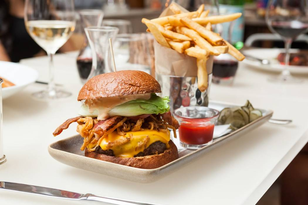 The Hexx Burger at Hexx Kitchen + Bar will be half-price. (Hexx Kitchen + Bar)