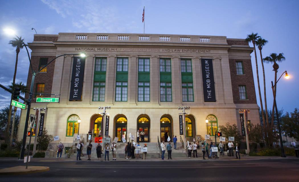The Mob Museum in downtown Las Vegas (Las Vegas Review-Journal)