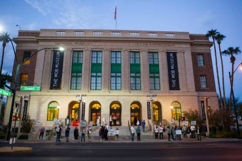 The Mob Museum in downtown Las Vegas (Las Vegas Review-Journal)