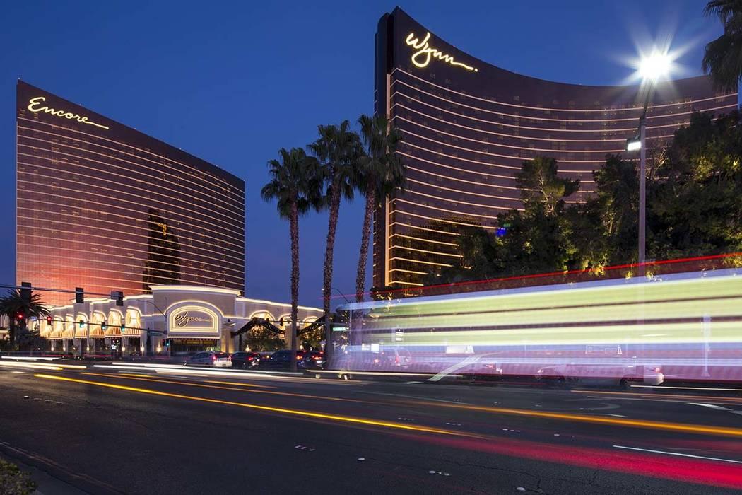 Encore and Wynn Las Vegas on the Las Vegas Strip. (Richard Brian Las Vegas Review-Journal)@vega ...