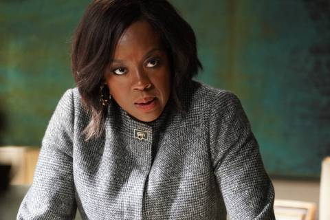 Viola Davis in How To Get Away With Murder. (ABC/Richard Cartwright)