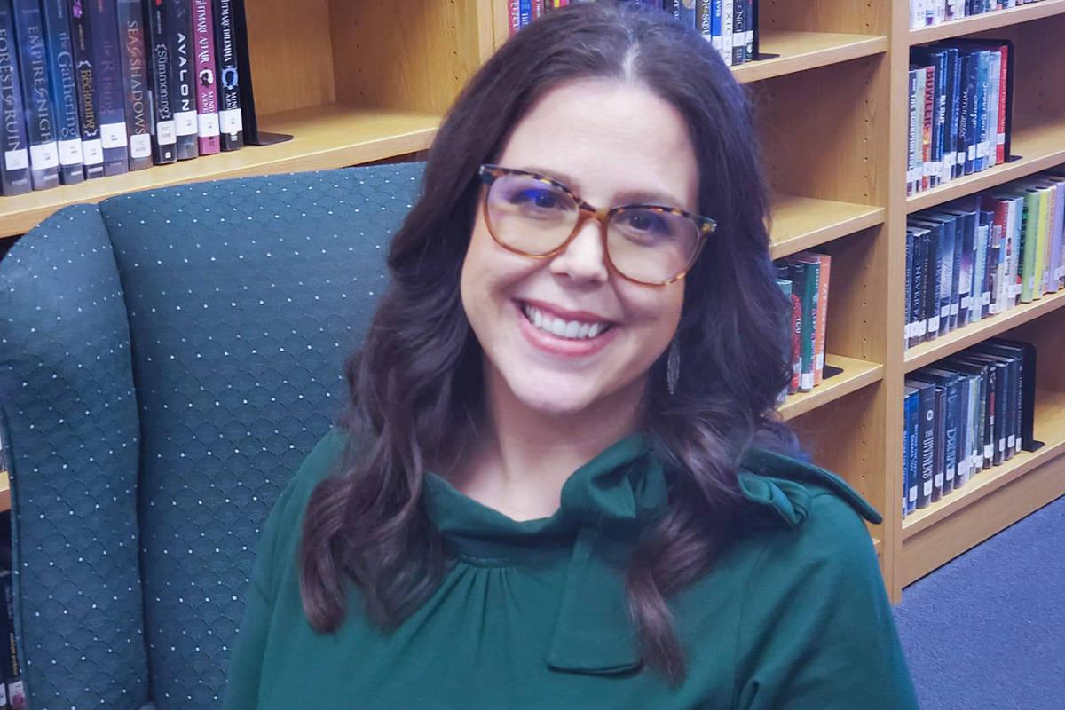 Alexis Salt, an Indian Springs High School teacher, is running for the Clark County School Boar ...