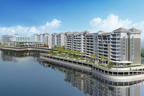 Las Vegas-based Allegiant Travel Co. is developing a riverfront resort project in Florida calle ...