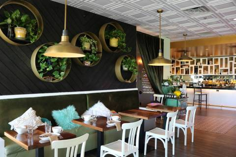 The Stove in Henderson plans a grocery popup. (Janna Karel/Las Vegas Review-Journal)