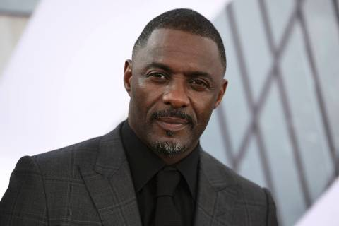 """In this July 13, 2019, file photo, Idris Elba arrives at the Los Angeles premiere of """"Fast & Fu ..."""
