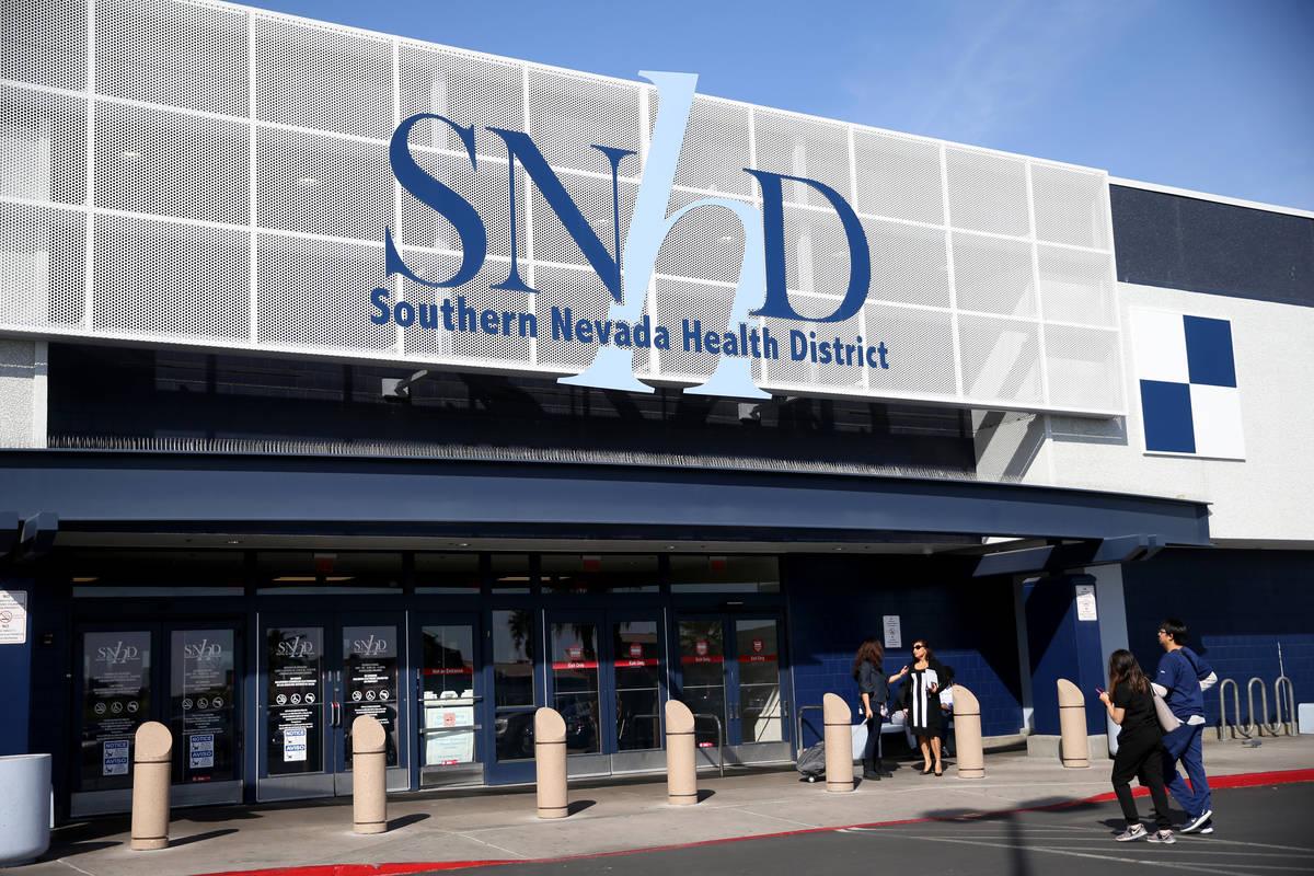 Southern Nevada Health District in Las Vegas Thursday, March 5, 2020. (K.M. Cannon/Las Vegas Re ...