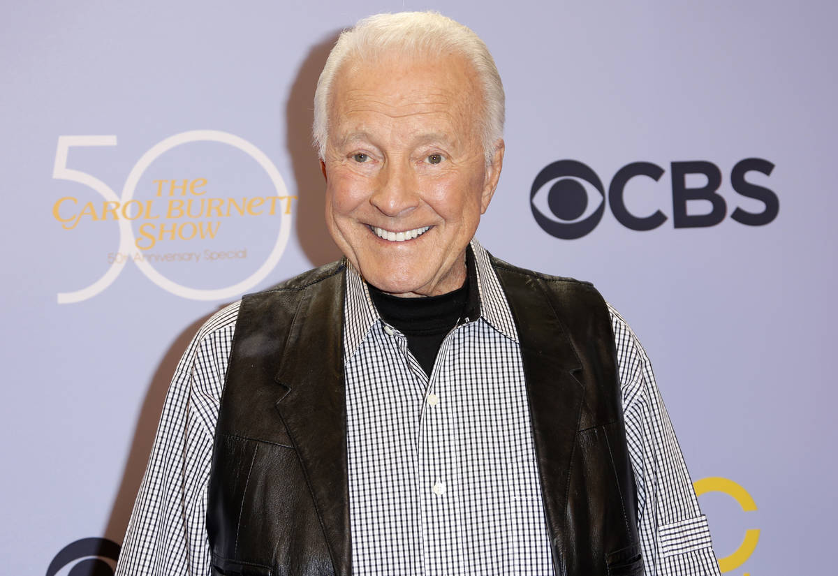 """FILE - In this Oct. 4, 2017, file photo, Lyle Waggoner arrives at the """"The Carol Burnett 5 ..."""